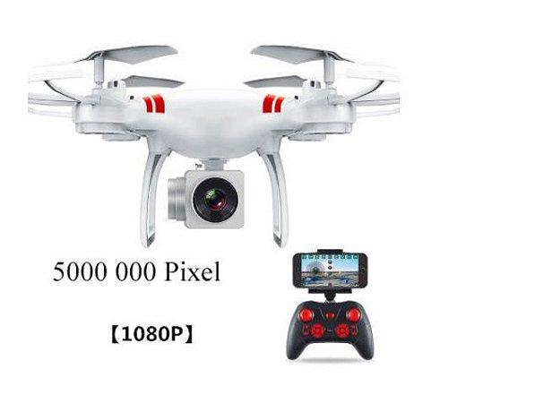 Drone Zangão Gps Hd Profissional Câmera de 500000 Pixels Selfie Controle Remoto Mini Rc