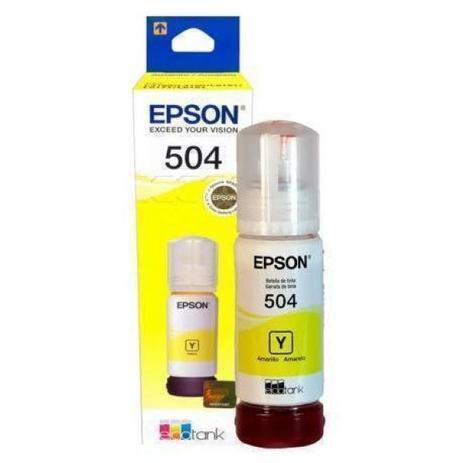 GARRA DE TINTA EPSON AMARELO T504420-AL ORIGINAL