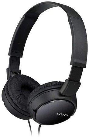 HEADPHONE SONY MDR-ZX110 PRETO