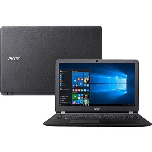 NOTEBOOK ACER ASPIRE E 15.6IN HD I3 - 6006U 4GB RAM 1TB (ES1-572-3562-NX.GMFAL.006)