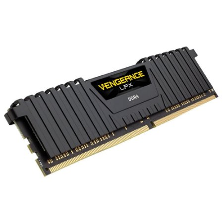 MEMORIA CORSAIR VENGEANCE LPX 8GB 2400MHZ DDR4 C16 BLACK - CMK8GX4M1A2400C16