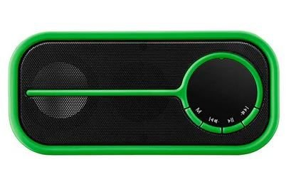 CAIXA DE SOM PULSE BLUETOOTH COLOR SERIES VERDE 10W.