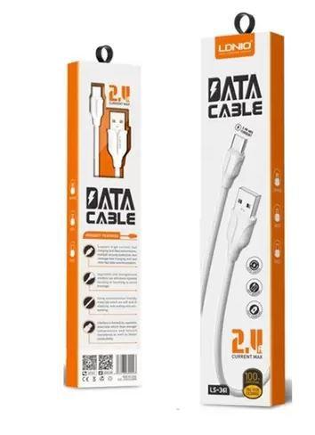 CABO DE DADOS MICRO USB HM-361 DATA CABLE 2.4A
