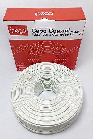 CABO COAXIAL DE CAMERA 100 M IPEGA