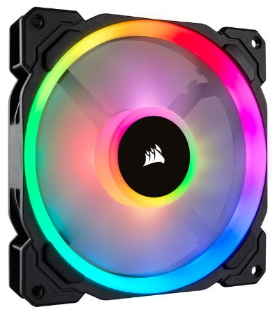 VENTILADOR P/ GABINETE CORSAIR LL140 RGB 140MM DUAL LIGHT LOOP RGB (CO-9050073-WW)
