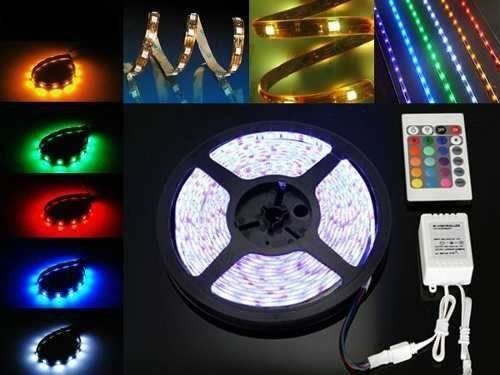 FITA SUPER LED 5M RGB 5050 PROVA D'AGUA+CONTROLE