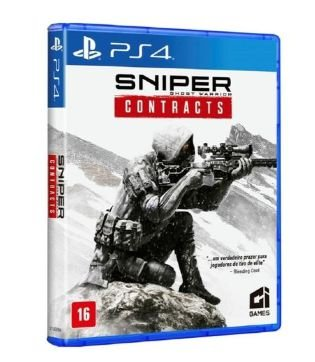 JOGO CI GAMES SNIPER GHOST WARRIOR CONTRACTS PS4 BLU-RAY  (CI000007PS4)