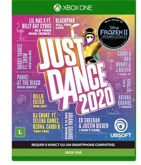 JOGO UBISOFT JUST DANCE 2020 XBOX ONE BLU-RAY (UB2018ON)