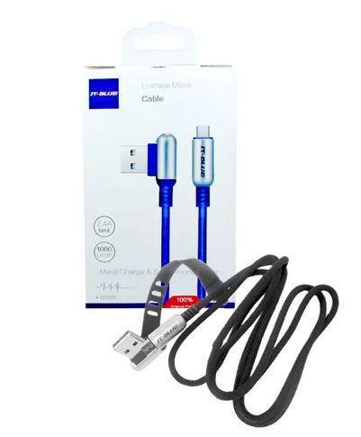 CABO DE DADOS L-SHAPE IT BLUE V8 13110V PRETO