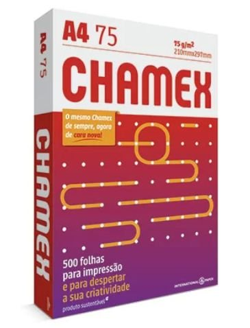 PAPEL CHAMEX A4 75G 210X297
