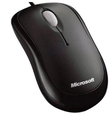 MOUSE MICROSOFT BASIC OPTICAL USB PRETO P58-00061