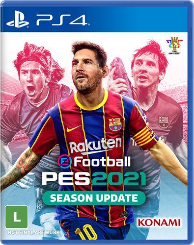 PRÉ- VENDA Game EFootball PES 2021 - PS4
