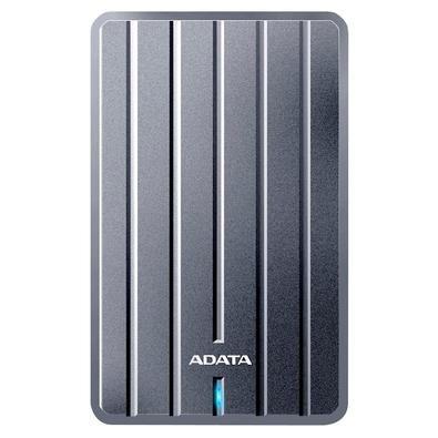 HD EXTERNO ADATA HC660 ULTRA SLIM, 1TB, USB 3.2, CINZA - AHC660-1TU31-CGY