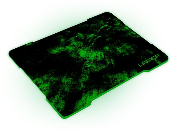 MOUSE PAD WARRIOR GAMER VERDE AC287