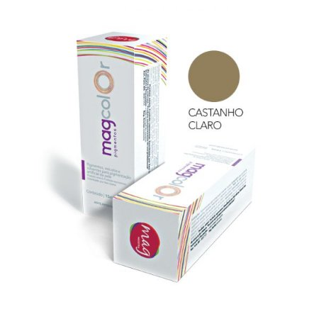 Pigmento Micropigmentação Mag Color 15ml - Castanho Claro