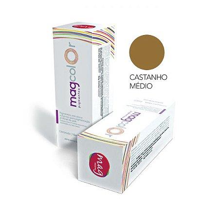 Pigmento Micropigmentação Mag Color 15ml - Castanho Médio