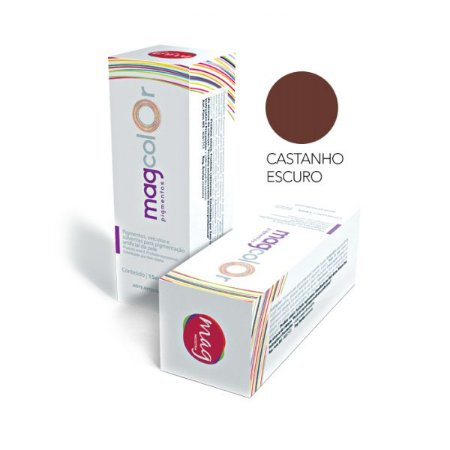Pigmento Micropigmentação Mag Color 15ml - Castanho Escuro