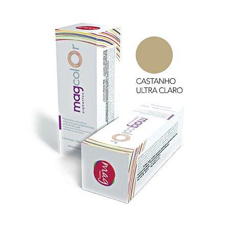 Pigmento Micropigmentação Mag Color 15ml - Castanho Ultra Claro