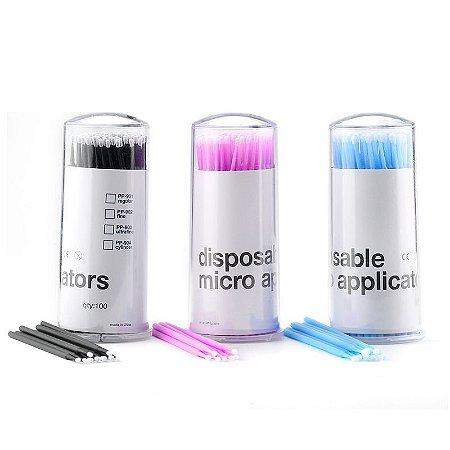 Aplicador Micro Brush c/ 100 Ultra Fino