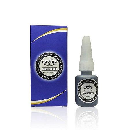 Cola Profissional para Alongamento de Cílios - Navina Azul