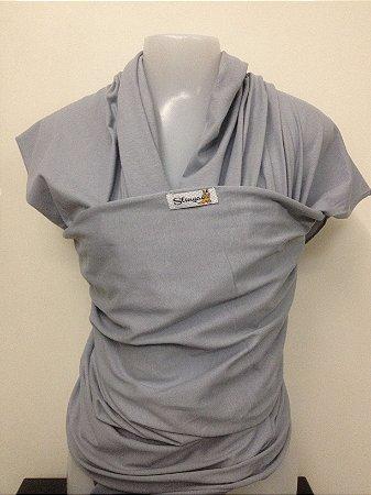 Wrap sling de malha 100% algodão - Cinza