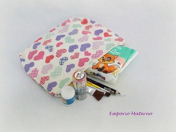 Kit para pintura de barriga - corações