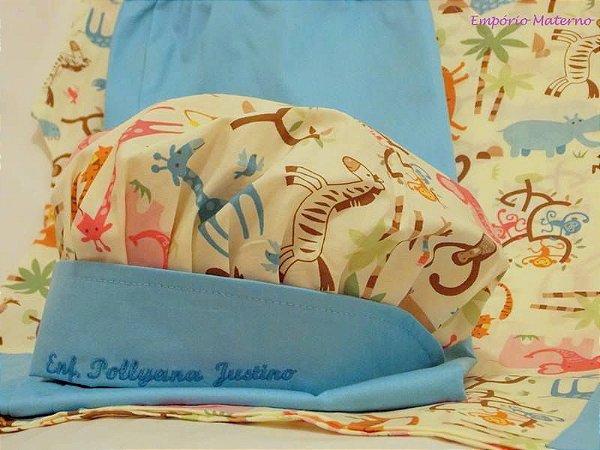 Toucas personalizada Bichinhos Floresta - Com bordado - Confecção 3 dias úteis