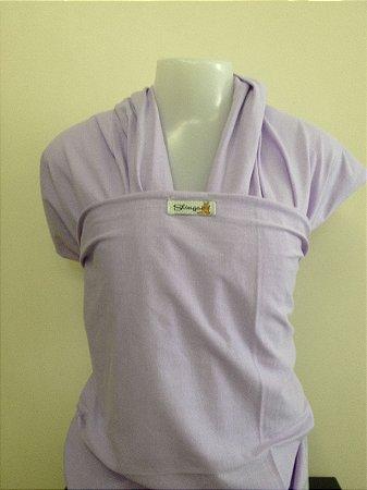 Wrap sling de malha 100% algodão - Lilás