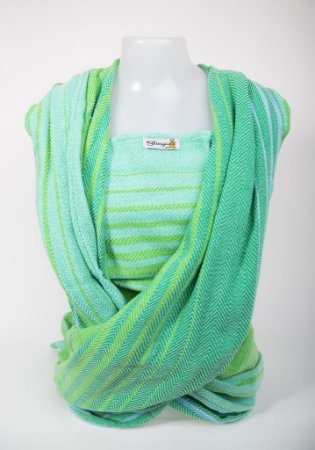 Wrap sling sarja esp. peixe - Verde Mesclado