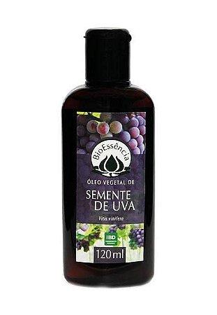 Óleo Vegetal de Semente de Uva 120 ml
