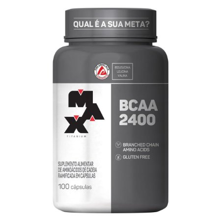 BCAA 2400 Max Titanium - 100 cápsulas