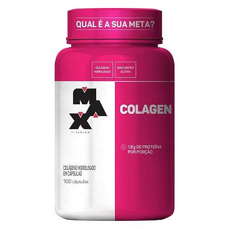 Colagen Max Titanium - 100 cápsulas