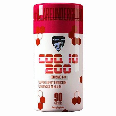 COQ-10 200 Under Labz - 90 cápsulas