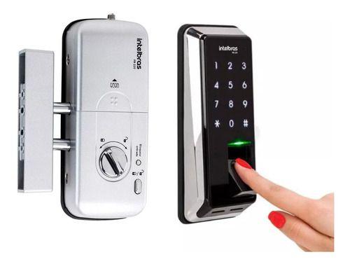 Fechadura Digital Biometrica Fr 220