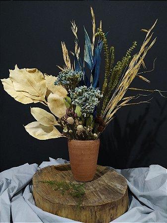 Arranjo Floral Blue
