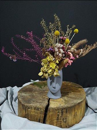 Arranjo Floral - Cabeça de Flores