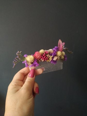 Pente Floral