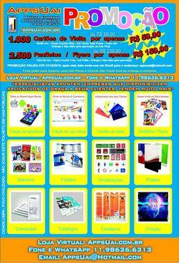 2.500 Panfletos - 100x148mm Couchê - 90g - 4x0  Refile Produção 3 dias úteis após aprovação