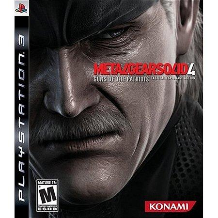 PS3 Metal Gear Solid 4 : Guns of Patriots [USADO]