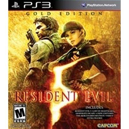 PS3 Resident Evil 5 Gold Edition [USADO]