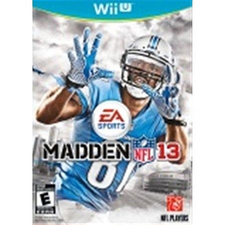Nintendo WiiU Madden NFL 13