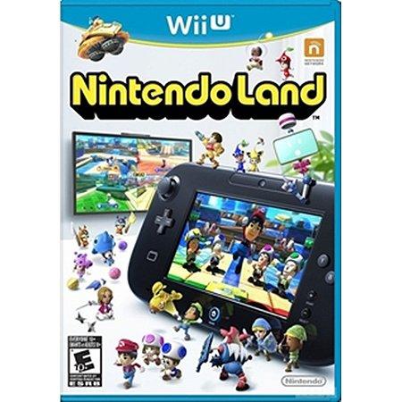 WiiU NintendoLand [USADO]