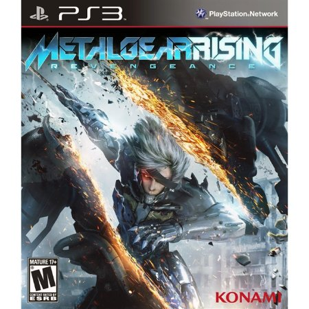 PS3 Metal Gear Rising: Revengeance [USADO]