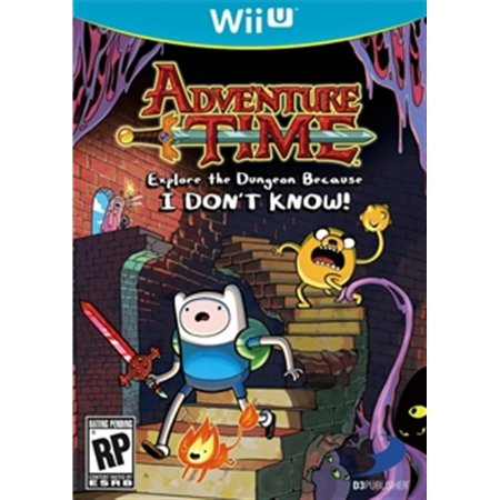 Nintendo WiiU Adventure Time: Explore the Dungeon Because I DON'T KNOW!
