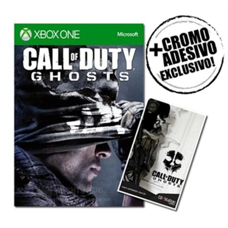 Xbox One Call of Duty: Ghosts + Cromo adesivo exclusivo