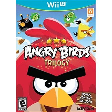 Nintendo WiiU Angry Birds Trilogy