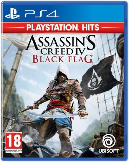 PS4 Assassins Creed IV Black Flag (Playstation Hits)