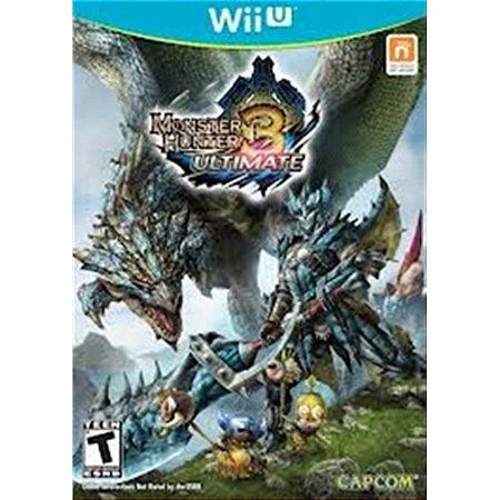 Nintendo WiiU Monster Hunter 3 Ultimate [USADO]