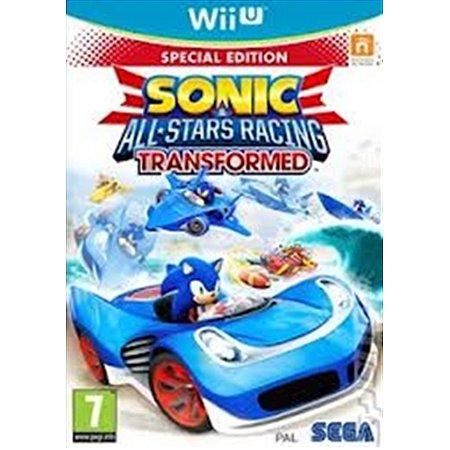 Nintendo WiiU Sonic All-Stars Racing Transformed [USADO]