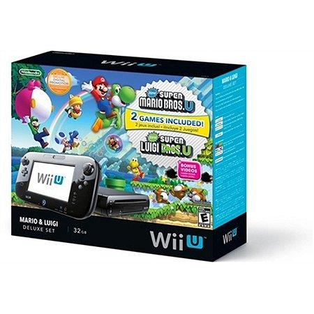 Nintendo WiiU  Deluxe set 32GB